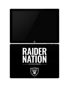 Las Vegas Raiders Team Motto Surface Pro 6 Skin