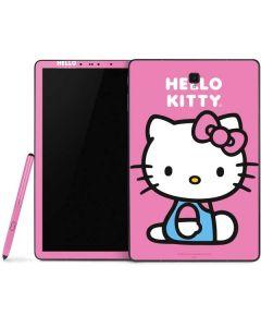 Hello Kitty Sitting Pink Samsung Galaxy Tab Skin
