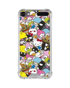Hello Sanrio Color Blast iPod Touch (5th-6th-7th Gen) Clear Case
