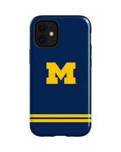 Michigan Logo Striped iPhone 12 Mini Case