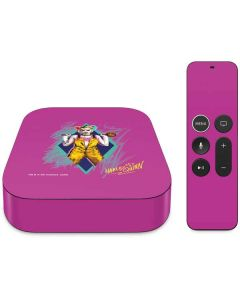 Fierce Harley Quinn Apple TV Skin