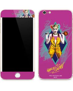 Fierce Harley Quinn iPhone 6/6s Plus Skin