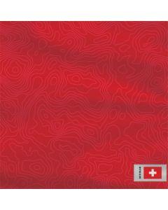 Switzerland Soccer Flag Roomba i7+ with Dock Skin