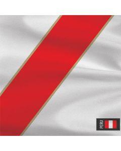 Peru Soccer Flag Generic Laptop Skin
