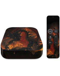 Fireball Dragon Apple TV Skin