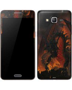 Fireball Dragon Galaxy Grand Prime Skin