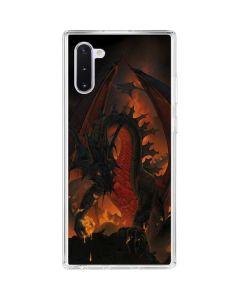 Fireball Dragon Galaxy Note 10 Clear Case