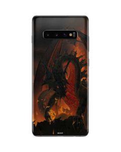Fireball Dragon Galaxy S10 Plus Skin