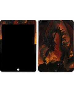 Fireball Dragon Apple iPad Skin