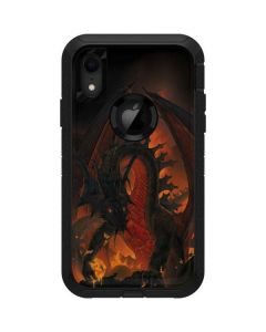 Fireball Dragon Otterbox Defender iPhone Skin