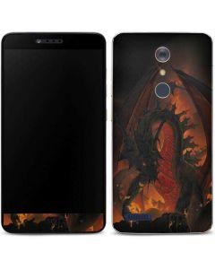 Fireball Dragon ZTE ZMAX Pro Skin