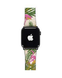 Flamingo Pattern Apple Watch Band 42-44mm
