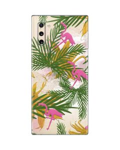 Flamingo Pattern Galaxy Note 10 Skin