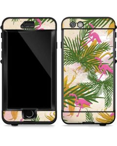 Flamingo Pattern LifeProof Nuud iPhone Skin