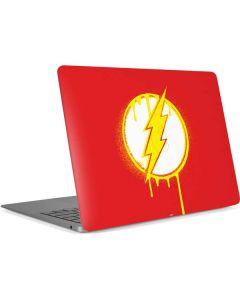Flash Emblem Drip Apple MacBook Air Skin