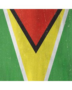 Guyana Flag Distressed Amazon Echo Skin