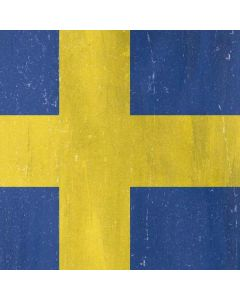 Sweden Flag Distressed Generic Laptop Skin