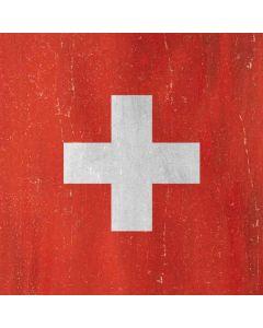 Switzerland Flag Distressed Roomba i7+ with Dock Skin