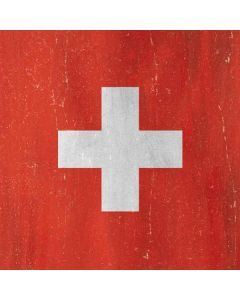 Switzerland Flag Distressed Apple TV Skin