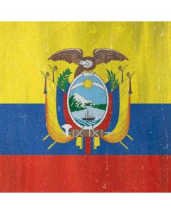 Ecuador Flag Distressed Generic Laptop Skin