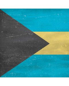 Bahamas Flag Distressed Generic Laptop Skin