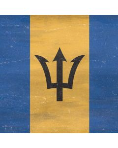Barbados Flag Distressed Generic Laptop Skin