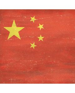 Chinese Flag Distressed Generic Laptop Skin