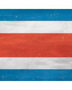 Costa Rican Flag Distressed Generic Laptop Skin