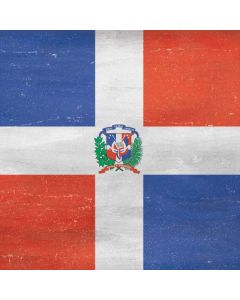 Dominican Republic Flag Faded Generic Laptop Skin