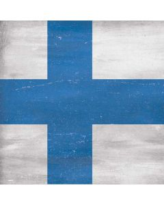 Finland Flag Distressed Apple TV Skin