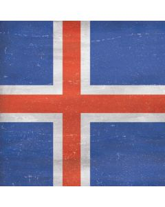 Iceland Flag Distressed Generic Laptop Skin