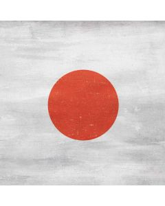 Japanese Flag Distressed Generic Laptop Skin