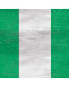 Nigeria Flag Distressed Generic Laptop Skin
