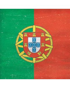 Portugal Flag Distressed Galaxy Book Keyboard Folio 12in Skin