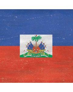 Haitian Flag Distressed Generic Laptop Skin