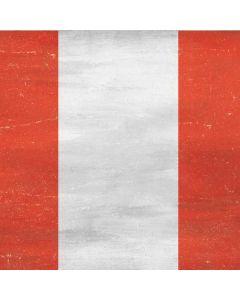 Peru Flag Distressed Apple TV Skin