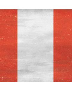 Peru Flag Distressed Generic Laptop Skin