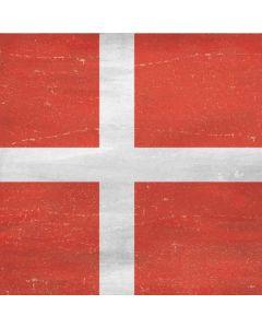 Denmark Flag Distressed Galaxy S9 Skin