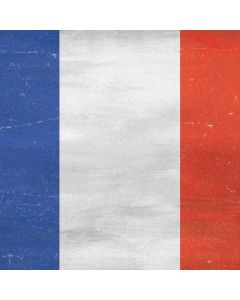 French Flag Distressed Apple TV Skin