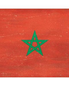 Morocco Flag Distressed Generic Laptop Skin