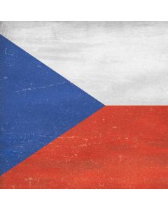 Czech Republic Flag Distressed Generic Laptop Skin