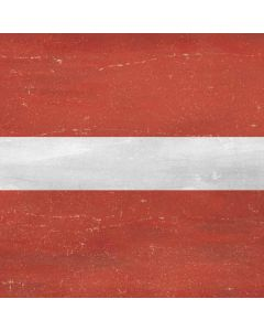 Latvia Flag Distressed Galaxy Book Keyboard Folio 12in Skin