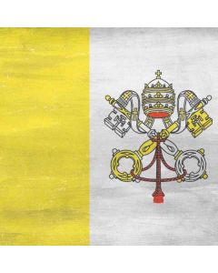 Vatican City Flag Distressed HP Pavilion Skin
