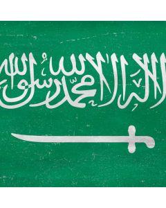 Saudi Arabia Flag Distressed Generic Laptop Skin
