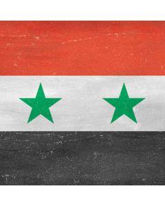 Syria Flag Distressed Generic Laptop Skin