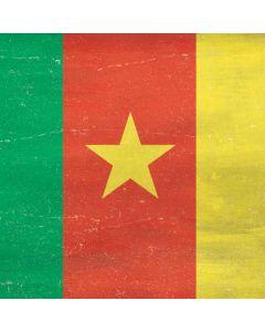 Cameroon Flag Distressed Galaxy Book Keyboard Folio 12in Skin