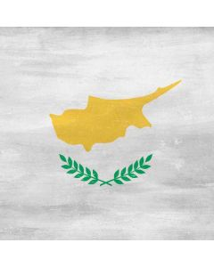 Cyprus Flag Distressed Apple TV Skin
