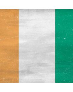 Ivory Coast Flag Distressed Apple TV Skin