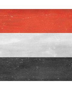 Yemen Flag Distressed Generic Laptop Skin