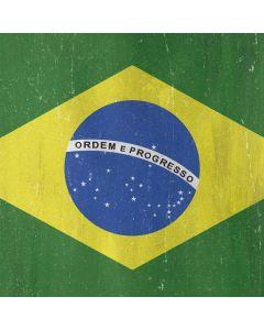 Brazil Flag Distressed Generic Laptop Skin